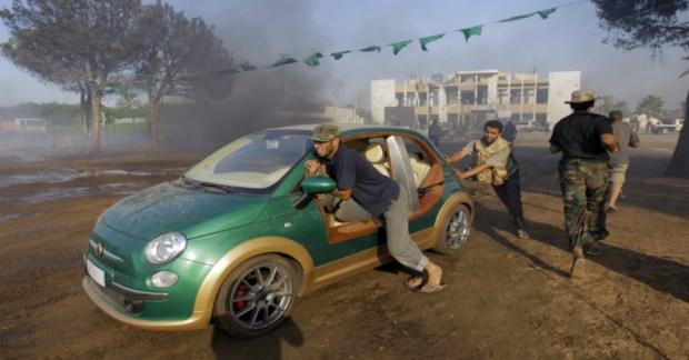 Muammar Gaddafi's Car