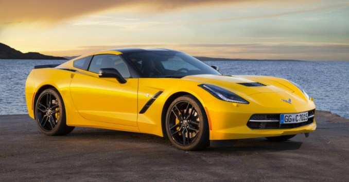 2015 Chevrolet Corvette Stingray Yellow