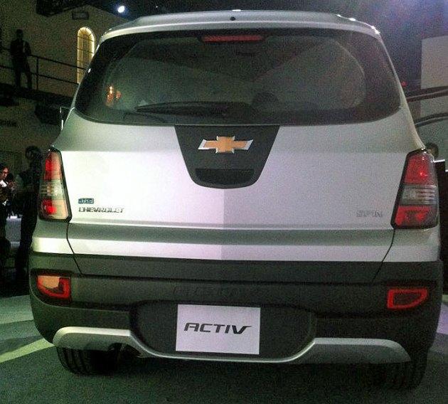 2014 Chevrolet Spin crossover Activ