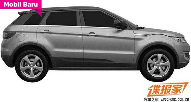 Clone Ranger Rover Evoque from China