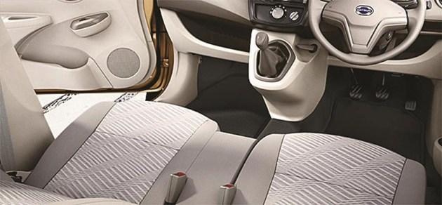 Datsun GO + Panca Interior
