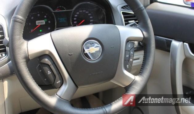 2015 Chevrolet Captiva Facelift steering