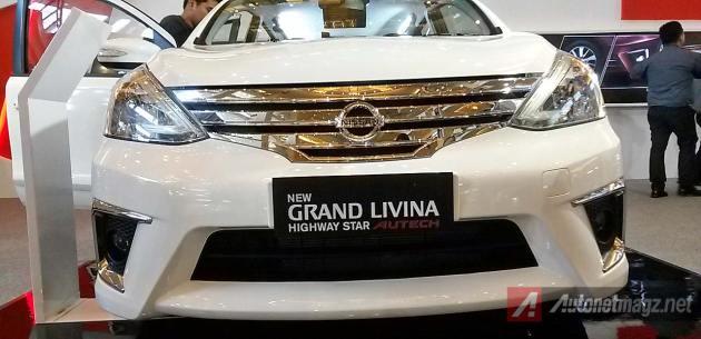 Grill Autech Grand Livina