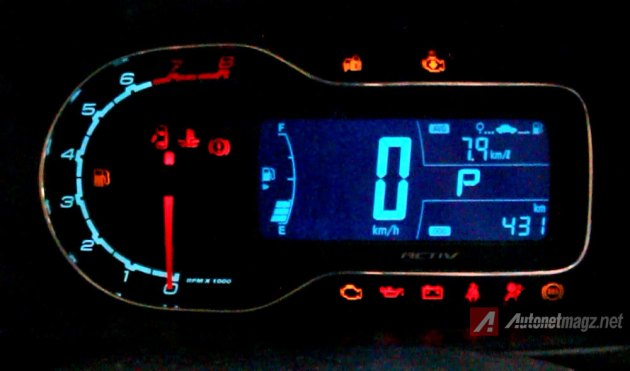 Speedometer digital Chevrolet Spin Activ 1.5 Automatic