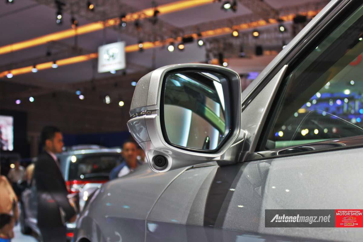 honda accord facelift indonesia iims 2016 side mirror camera