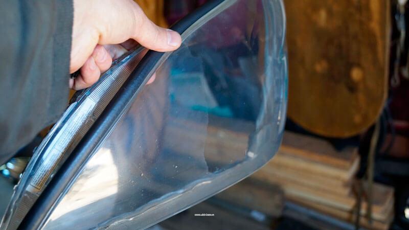 Полировка стекла фар