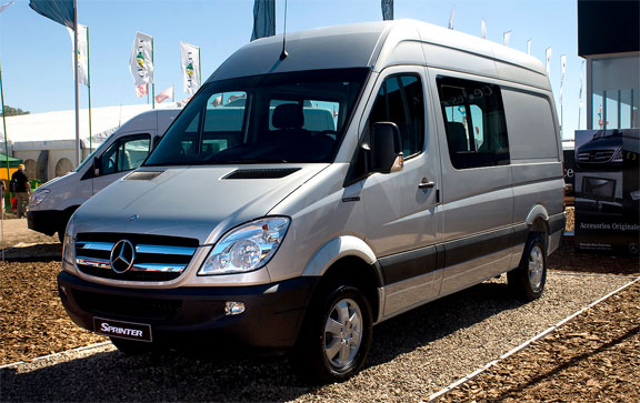 Nueva Mercedes Benz Sprinter Silver Edition