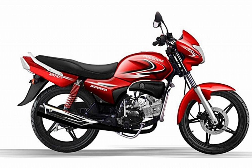 Freedom Runner Royal+ 110 Motorcycle Specification