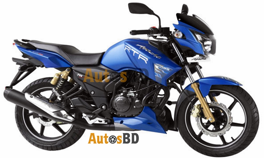 TVS Apache RTR 150 Matte Blue Edition Motorcycle Specification