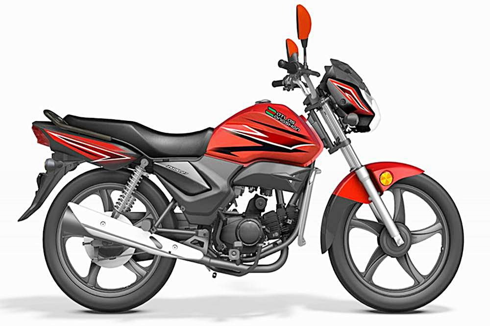 Atlas Zongshen ZS 100-27 Motorcycle Specification