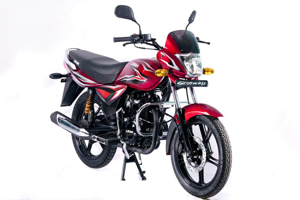 Lifan Glint 100 Motorcycle Specification