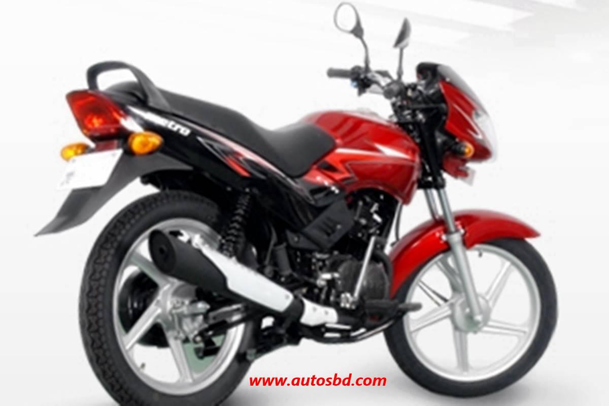 TVS Metro ES Motorcycle Specification