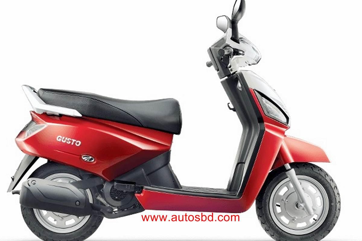 Mahindra Gusto Motorcycle Specification