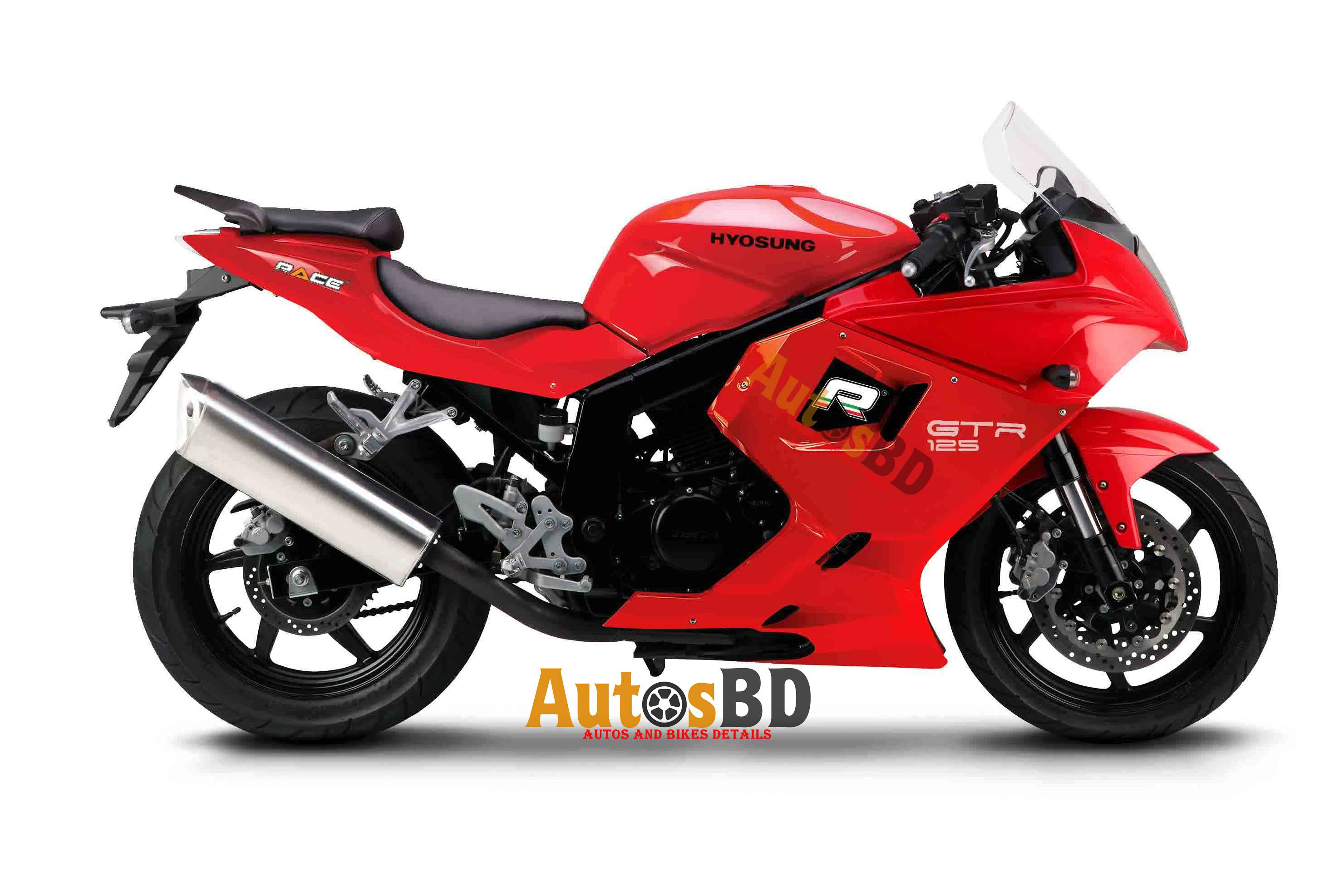 Race Hyosung GTR 125 Motorcycle Specification