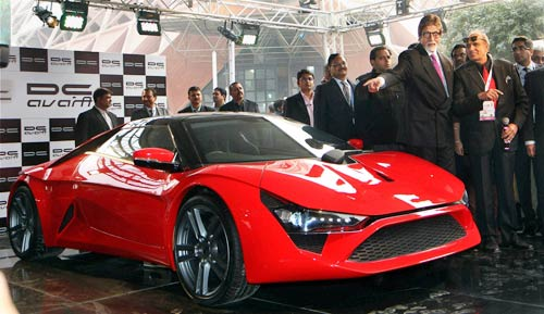 dc design launches country 39 s first sports car at rs lakh autosports india indian. Black Bedroom Furniture Sets. Home Design Ideas