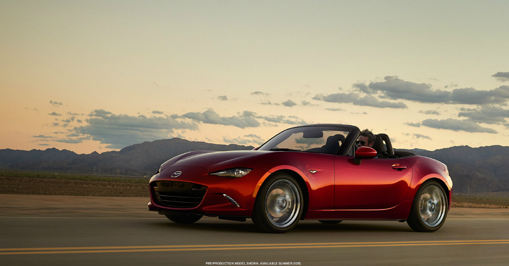 2016 Soul Red Mazda MX-5 Miata