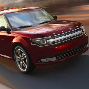 2016 red ford flex