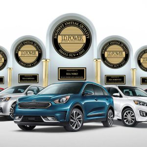 Initial Quality Led by Kia