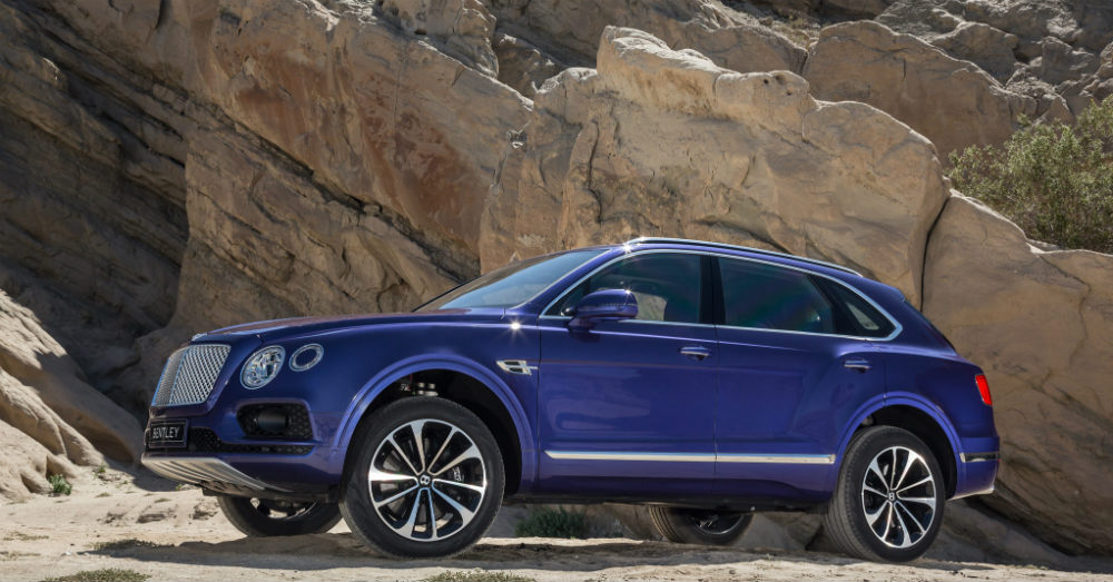 2017 Bentley Bentayga The Perfect Complement