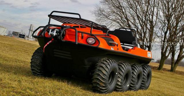 Going Anywhere You Want in the Argo Frontier ATV