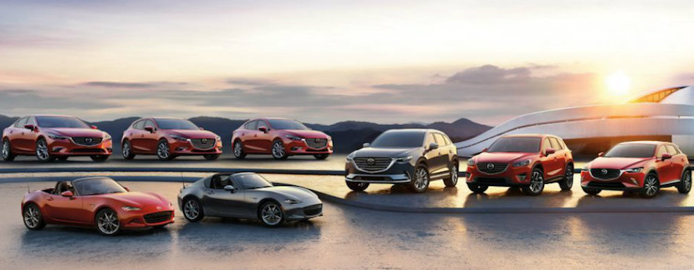 2018 Mazda Vehicles