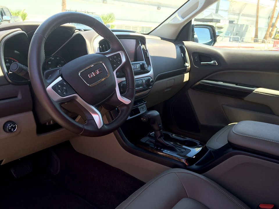 gmc canyon terrain X interior in doha
