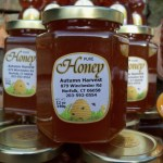 Autumn Harvest Orchard Honey jar