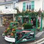 Fleurs de Toussaint vitrine a Verdun
