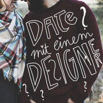 Date mit einem Designer