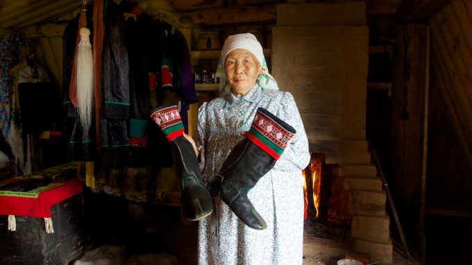 Anna Akimova, 81. Yakutia, Siberia. Photo © 2013 Galya Morrell
