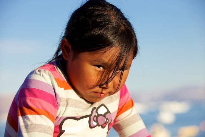 Teresia from Qaanaaq, Northern Greenland. Photo © 2012 Galya Morrell