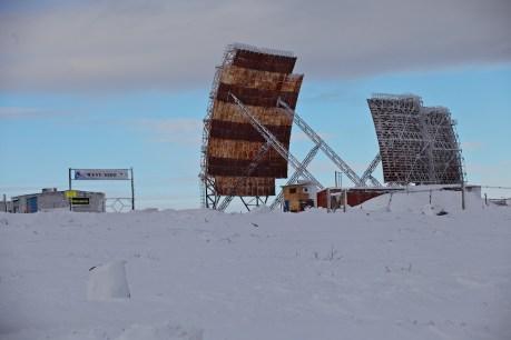 Abandoned military installations in Chukotka. Photo © 2013 Galya Morrell