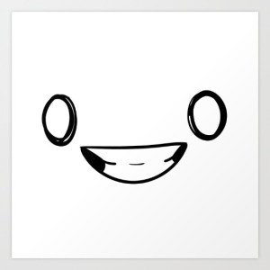 All Smiles - Alex van Rossum - print