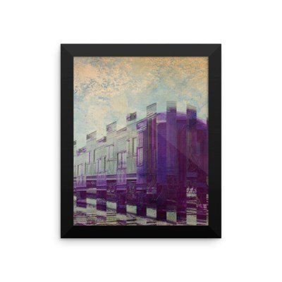 Train Car Framed poster