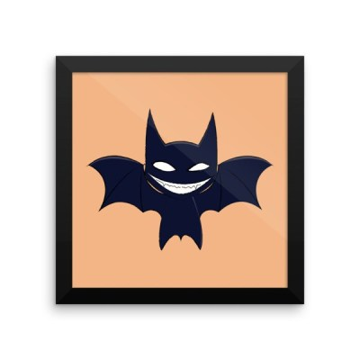 Vampire Bat Framed poster
