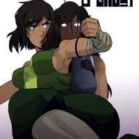 [Polyle] Caged with a Ghost (The Legend of Korra)