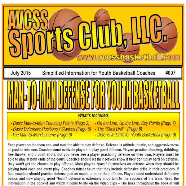 Man To Man Defense Basics For Youth Basketball