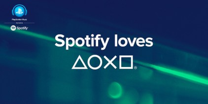 Spotify and Playstation