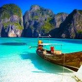 Insula Ko Phi Phi, Thailanda.