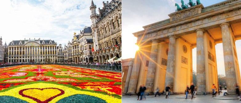 Double Travel! City break Bruxelles si Berlin 130 EUR (zboruri, cazare 4 nopti)