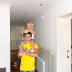 Manuel (Alemania) con su hermano menor español ♥