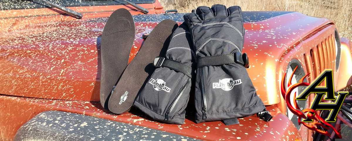 Flambeau Outdoors Heated Gloves and Hot Feet Insoles Review