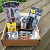 HuntVault Giveaway Opened Box