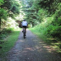 Springboard Trail in Belcarra Park: Only for Seriously Fit Cyclists, or for Those who Seriously Want to be Fit