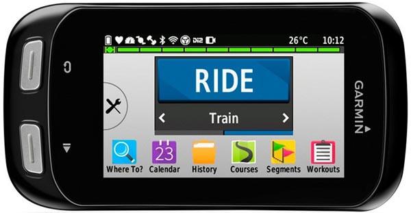 I really like the new icons based interface on the Garmin Edge 1000 - Edge 1000 vs 810