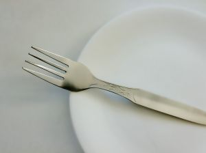 Simple Plate and Fork