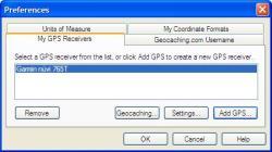 EasyGPS Select Garmin Nuvi 765t
