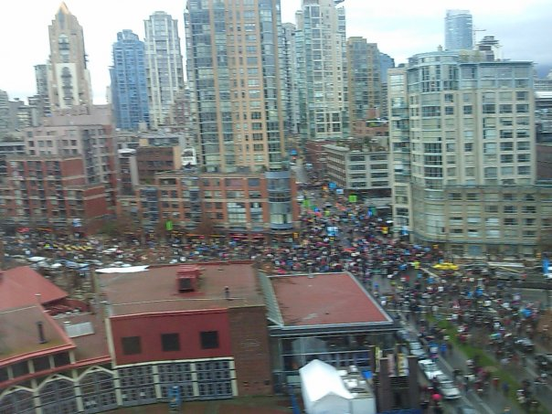 Vancouver 2010 Torch Arrival
