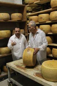 Testing the Parmigiano Reggiano