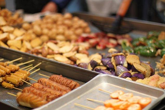 Street Food in Causeway Bay Hong Kong